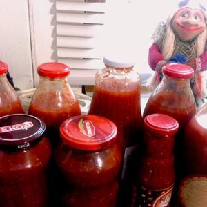 Излишки помидоров - в томатный сок!