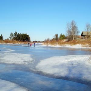 Игра со льдом