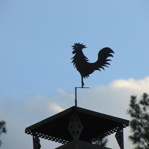 Петушок на крыше