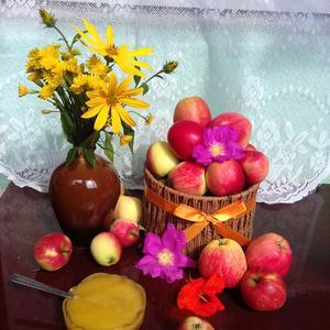 Лесные яблочки к Яблочному Спасу))) Своих в этом году нет((