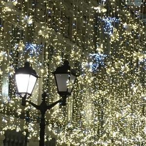 Новогодние огни:)))