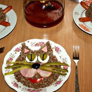 Завтрак от папы)))
