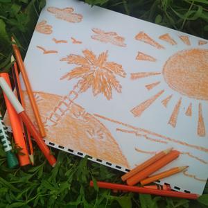 Оранжевое небо, оранжевое море...