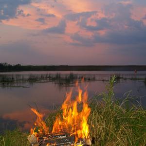 Отдых на реке Ока...