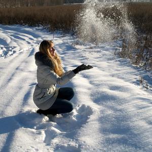 Как же это здорово - разбрасывать зимой снег!!!