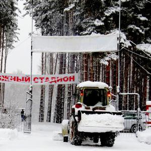 Аврал на лыжном стадионе