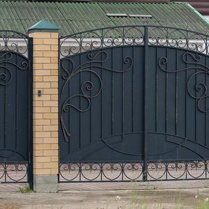 Ворота ажурные, кованые