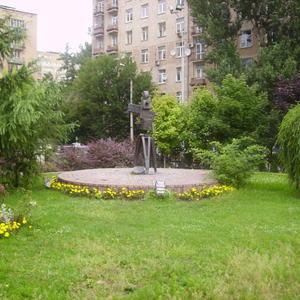 Сквер на Мосфильме