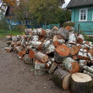 Запасаемся дровами для себя и для друзей...