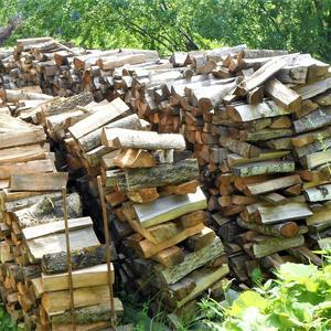 Газ на даче есть у нас, а дрова... да пусть лежат... все в хозяйстве пригодится...
