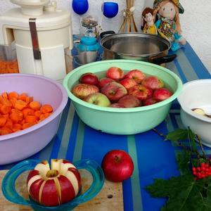 И будет вкусное и полезное морковно-яблочное пюре