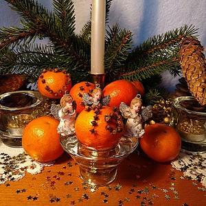 Новый год! Ароматы хвои и  мандарина...