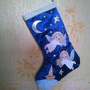 Рождественский сапожок - подарок подружки