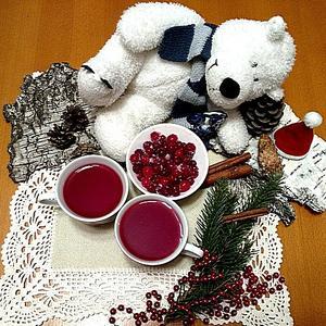 Мороженая клюква и тёплый кисель - зимой то, что надо!