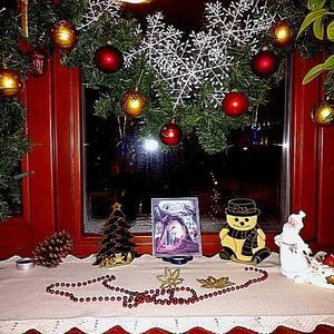 А за окном Рождественская ночь