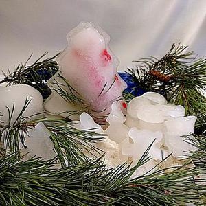 Новогодняя ледяная полянка
