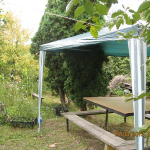 Уголок для чаепития в саду