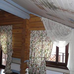 Оформление окна и двери на балкон