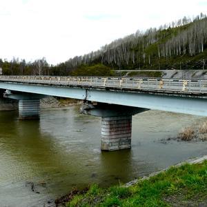 Мост через реку Мундыбаш