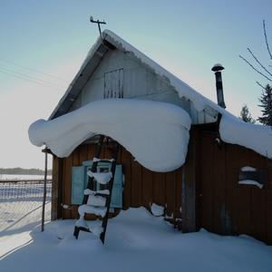 Снежный козырёк