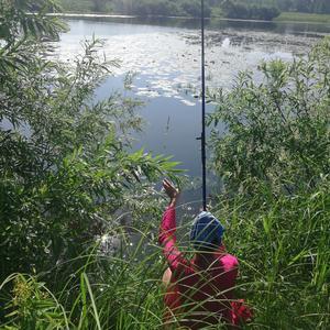 Пришли на рыбалку, но рыба об этом не знала )))