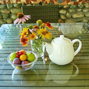 Утро с фруктами