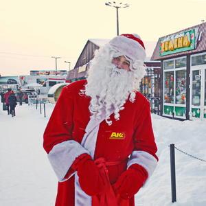 Добрый Дедушка Мороз - борода из ваты, семена он нам принёс... налетай, ребята!!!