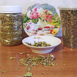 Сушёные мелисса и дербенник - вкусная добавка к чаю