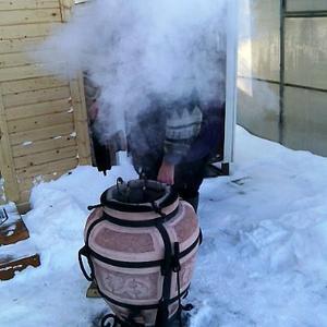 Зимний шашлычок в тандыре