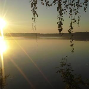 Рассвет на реке Нёмда