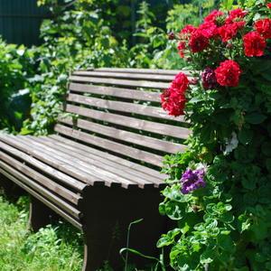 Садовый диван - своими руками
