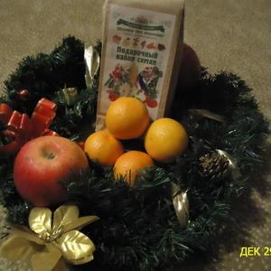 """Новогоднее угощение для интернет-магазина """"Русский огород"""""""