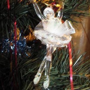Балерина на елке