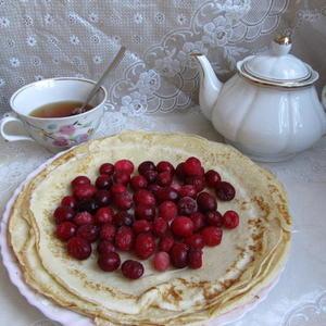 Завтрак с клюквой
