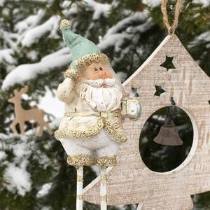 Создаю новогодние открытки на даче