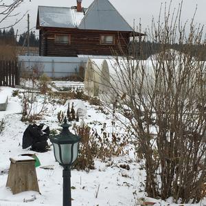 Огород под снежным покрывалом