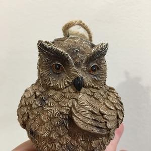 Елочная игрушка-сова (символ мудрости)