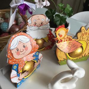 Сказка для внуков Курочка Ряба