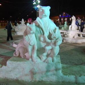 Снежные олимпийцы