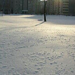 Очень морозное утро!