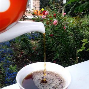 Самый вкусный чай на даче...