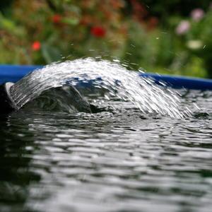 Наполнение ёмкости водой