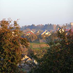 Осенняя деревня