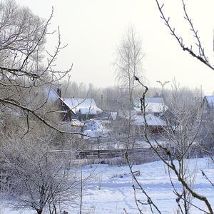 Январь в деревне