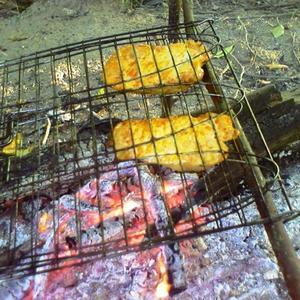 Филе цыпленка на решетке