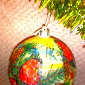 Новогодний шарик