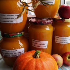Вкусные тыквенно-фруктовые заготовки на зиму