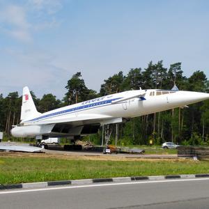 Неожиданно... ТУ-144 приземлился в Жуковском!