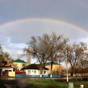 Первая весенняя радуга