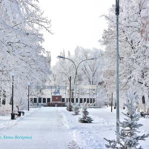 В старый парк пришла зима...